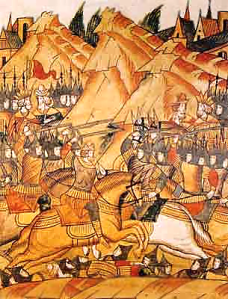 The Battle of Kosova, 1389