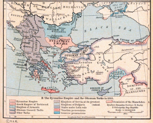 Serbian Empire 1355 AD