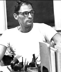 Arthur Miller in 1952, photo by Sam Falk, The New York Times