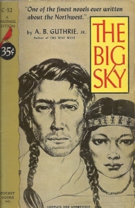 Cover of A.B. Guthrie's The Big Sky